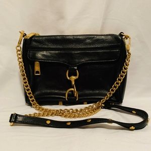 Rebecca Minkoff Black Mini Mac